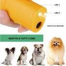 Anti-Barking Dog Trainer Dog Repellent Trainer Ultrasonic Anti Barking Device with LED Flashlight