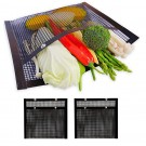 4X BBQ Large  Non-Stick Mesh Grilling Bags