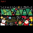 60 x 90cm Removable Christmas Window Clings Decal Wall Sticker