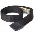 2 Pack Unisex Travel Security Hidden Pocket Belts Black and Navy