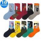 10 Pairs Famous Art Socks
