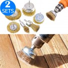 12Pcs Electric Drill Wire Brush Set