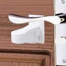4 X Child Proof Door Lever Lock Self Adhesive Safety Door Handle Lock