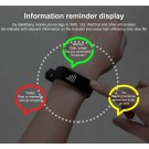 20 In 1 115plus Smart Fitness Tracker Bands Water Resistant Sport Watch Bluetooth Smart Touch Wristband Health Monitoring Bracelet Black