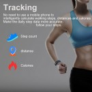 20 In 1 115plus Smart Fitness Tracker Bands Water Resistant Sport Watch Bluetooth Smart Touch Wristband Health Monitoring Bracelet Purple