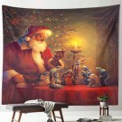 Christmas Tapestry Home Party Decoration Wall Hanging Tapestry