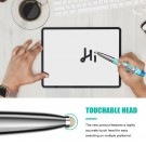 2.4G Bluetooth Wireless Mouse Pen Wireless Mouse Touch Pen USB Rechargeable Mouse Pen Mini Mice for Tablet Laptop Blue