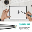 2.4G Bluetooth Wireless Mouse Pen Wireless Mouse Touch Pen USB Rechargeable Mouse Pen Mini Mice for Tablet Laptop Grey