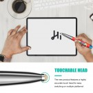 2.4G Bluetooth Wireless Mouse Pen Wireless Mouse Touch Pen USB Rechargeable Mouse Pen Mini Mice for Tablet Laptop Red