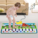 1 X Kids Musical Mat Kids Piano Keyboard Mat Early Education Touch Play Toy