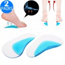 2 Pairs Foot Gel Arch Supports