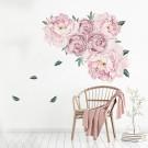 Flower Wall Sticker Pink