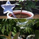 2 X Different Style Water Releasing Bird or Star Shaped Stakes