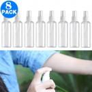 8 X 100ml Refillable Spray Bottles