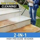 2 in 1 High Pressure Spray Nozzle Washer Set