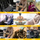 Orthopedic Seat Cushion Black