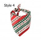 2 X Christmas Xmas Pet Bandana Style 3 Style 4