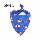 2 X Christmas Xmas Pet Bandana Style 1 Style 5