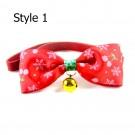 Xmas Pet Bow Tie Christmas Pet Bow Tie Style 1 Style 2