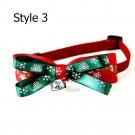Xmas Pet Bow Tie Christmas Pet Bow Tie Style 3 Style 4