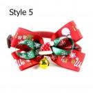 Xmas Pet Bow Tie Christmas Pet Bow Tie Style 5 Style 6