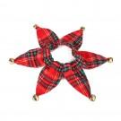 2 X Christmas Xmas Pet Collar with Bells