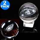 3D Transparent Ball incl. Stand  Style 1 and Style 2