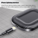 2 X Wireless Charging Pad Magnetic Wireless Charger Charging Dock Stand for AirPods Black and White
