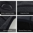 2 X Skull Caps Helmet Winter Thermal Liner with Glasses Port WITHOUT GLASSES