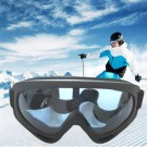 One Pair of Outdoor  Anti Fog Snow Goggles-Blue
