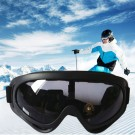 One Pair of Outdoor  Anti Fog Snow Goggles-Grey