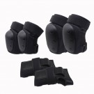 6pc Medium Kids and Baby Knee Pads Elbows Pads Wrist Guards Protective Gear Set