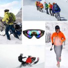 One Pair of Outdoor Ski Goggles-Colour mixture