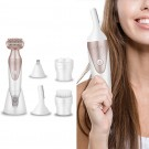 5 in 1 Women Electric Hair Remover Face Body Hair Trimmer