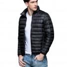 Mens Stand-up Collar Jacket K-6006 Black