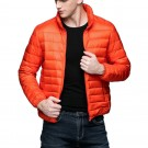 Mens Stand-up Collar Jacket K-6006 Orange