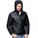Mens Hooded Warm Jacket K-6007 Black