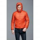Mens Hooded Warm Jacket K-6007 Orange