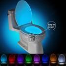 8 Colors Motion Activated Sensor Toilet Nightlight