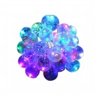 50 X LED Luminous Transparent Balloons For Christmas Birthday Outdoor Decoration