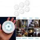 6PCS Cordless LED Motion Sensor Light Set