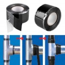 2 Pack2.5cm*3m Waterproof High Pressure Rubber Self-Fluxing Silicone Repair Tape