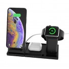 3 in 1 Wireless Charger Qi Certified Fast Charging Wireless Charger with Magnetic Stand for iPhone Airpods Apple Watch