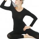 Women Winter Ultra Thin Thermal Underwear Set