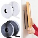 1 Roll Self Adhesive 3cmx25m Heavy Duty Hook and Loop Tape