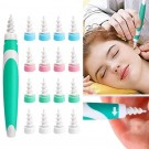 Spiral Ear Wax Remover Tool with 16PCS Disposable Tips Set