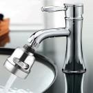 4 X 2 Modes Kitchen Sink 360 Flexible Extension Hose Faucet Sprayers Attachment Water Saving Short Nozzles