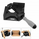 Single Handle Right Angle Aluminum Alloy Corner Clamp Woodworking Tool