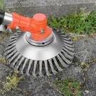 2 X Garden Grass Strimmer Head Weed Trimmer Brush Lawn Mower Head Grass Cutter Rotating Replacement Tool