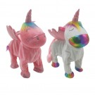 Smiling Walking Hip Shaking Unicorn Toy for Kids